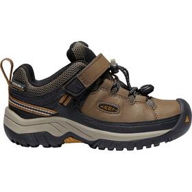 Keen Targhee WP Shoes Children dark earth/golden brown